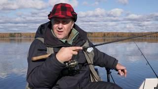 Не за рыбой, а на рыбалку. Сезон 1. Ловля с лодки в отвес осенью