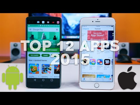 Top 12 Android And IOS Apps Of 2015!