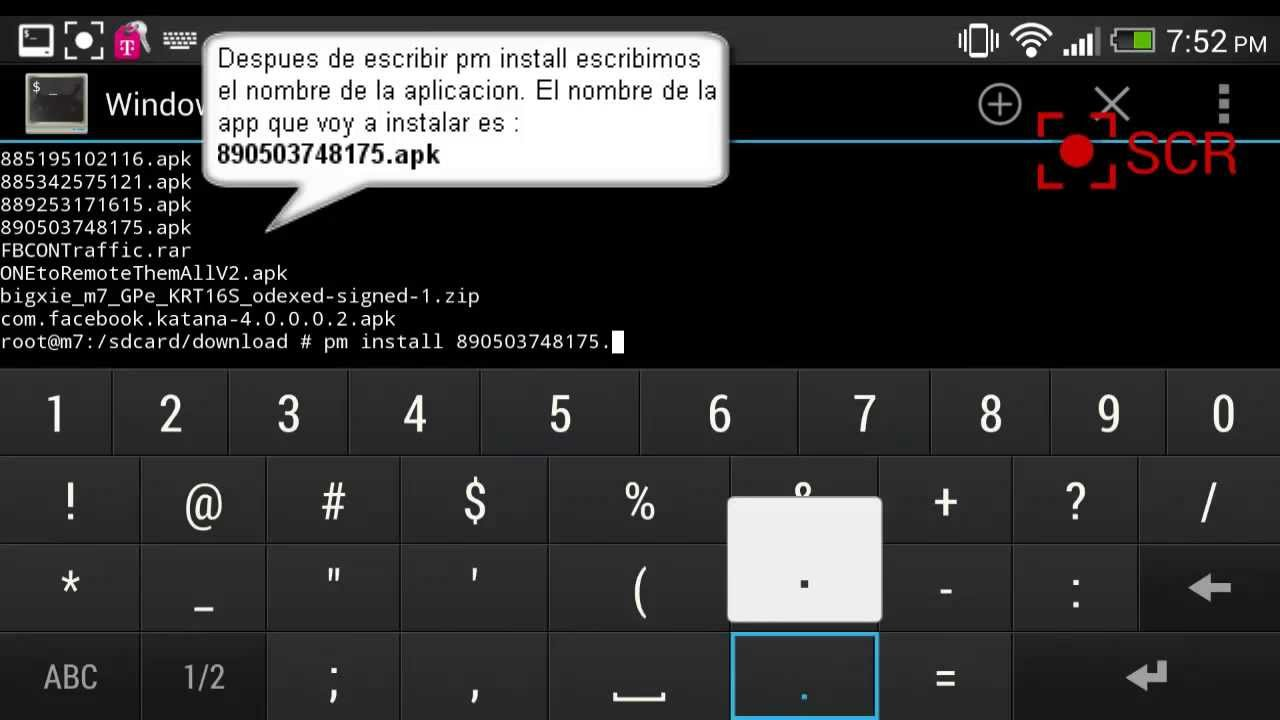 writing a terminal emulator apk