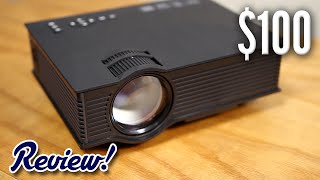 Is this $100 Projector Worth It?(Buy on Amazon (affiliate): http://amzn.to/24QzE7w Follow me on Snapchat: KevinBreeze Follow me on Instagram: http://Instagram.com/thekevinbreeze Follow ..., 2016-05-12T16:30:01.000Z)