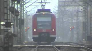 R4C BR185, SNCF Prima, BR152, 2x BR425 Bonn Villich - Müldorf