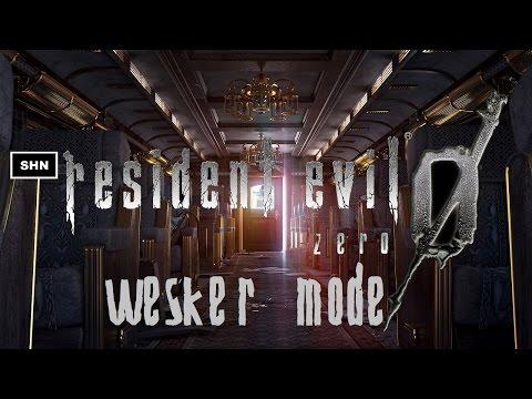 Resident Evil Zero HD Remaster Wesker Mode LiveStream