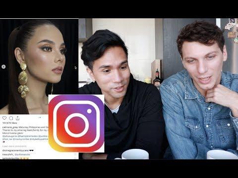 Catriona Gray Instagram Raid