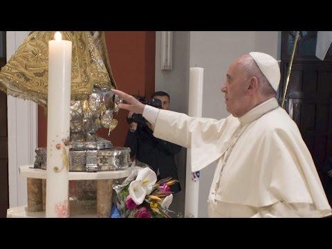 Pope Francis visits Santiago de Cuba