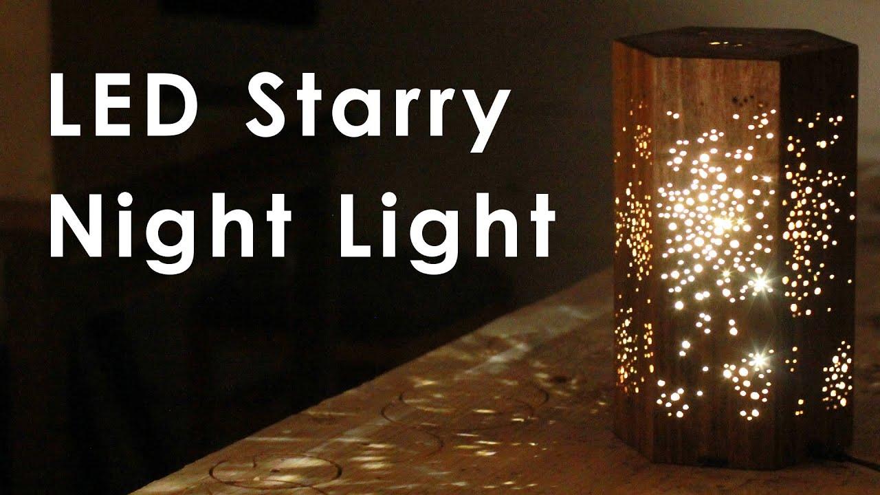 & Making an LED Night Light w/ Star Pattern - YouTube azcodes.com