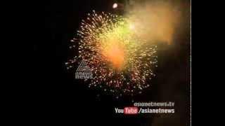 Pooram Fireworks 2015