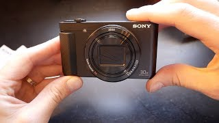 Is this cheap vlogging camera any good? - HX90V Hands On Review