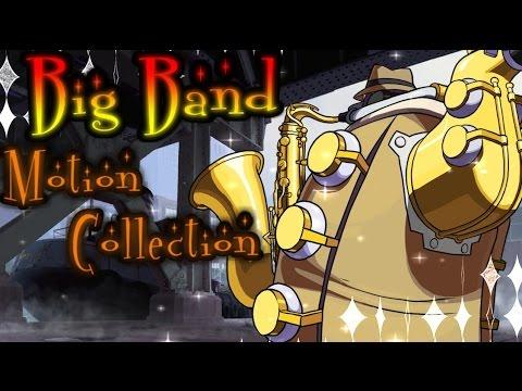 【スカルガールズ】Skullgirls - BigBand Motion Collection 【ビッグバンド】