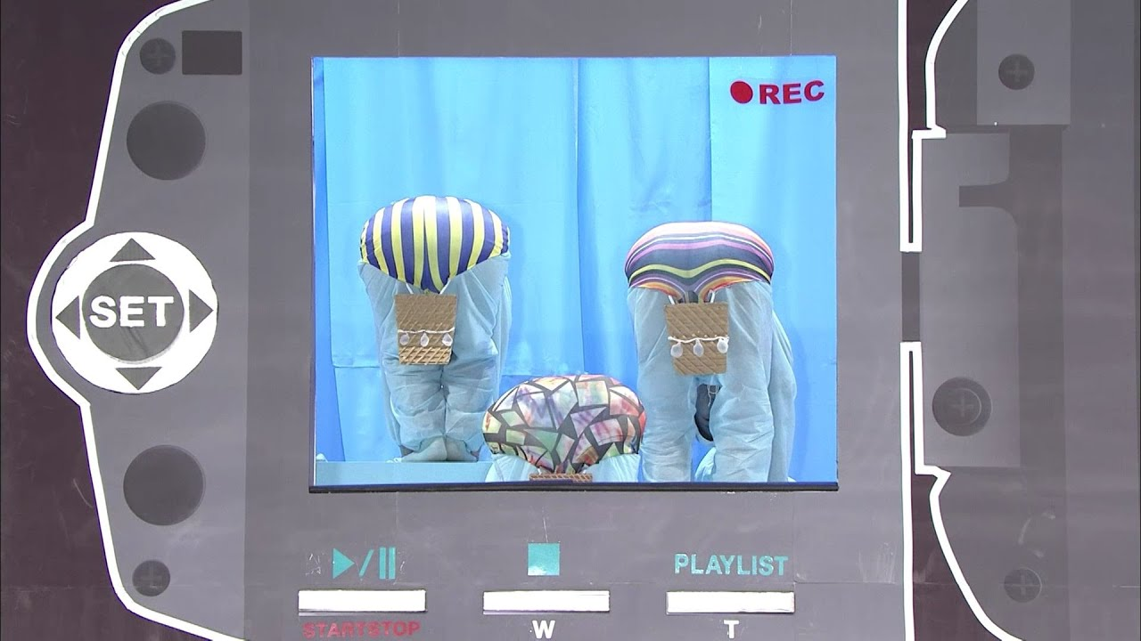 熱気球で空中散歩/Hot Air Balloon【仮装大賞official】