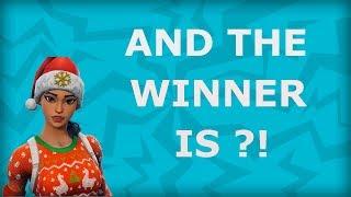 Account Giveaway Winner is ????!!! Fortnite Battle Royale