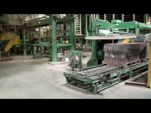 Used [TIGER PS-50] Inter-locking Concrete Block Making Machine made in japan