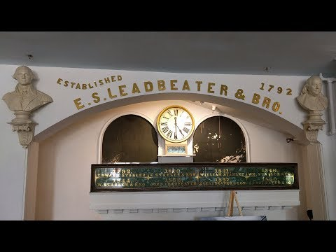 Tour of the Stabler-Leadbeater Apothecary Museum in Alexandria, Virginia