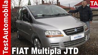 FIAT Multipla II JTD iz 2005-e TEST