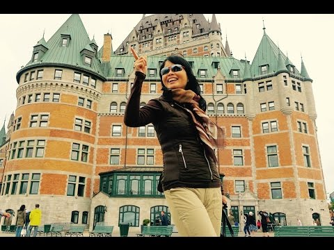 Canada Travel: Quebec City 加拿大魁北克市