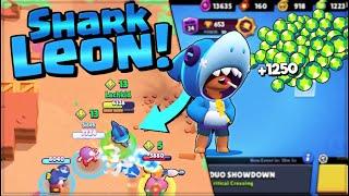 NEW Shark Leon - Buying 1250 GEMS - Shark Leon Gameplay // BrawlStars