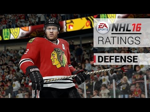 NHL 16 TOP 10 DEFENCEMAN RATINGS! (My Thoughts)