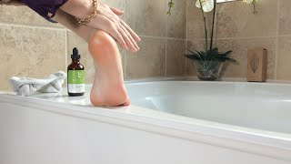 Argan Oil on Dry or Cracked Heels and Feet Thumbnail