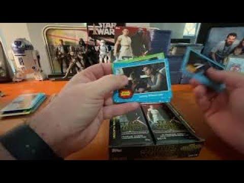 2019 Topps Star Wars Journey To The Rise Of Skywalker Hobby Box Break Review Youtube