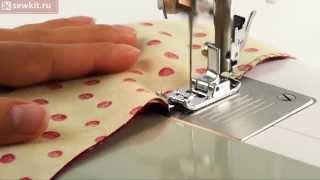 Лапка для обметывания (оверлочная) AU-109(Лапка для обметывания используется для обработки края ткани оверлочным стежком. Особенно подходит для..., 2013-08-01T11:12:19.000Z)