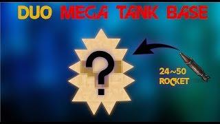 DUO MEGA TANK BASE 24~50 ROCKET RUST