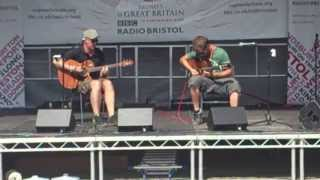 showhawk duo bristol harbour festival 2