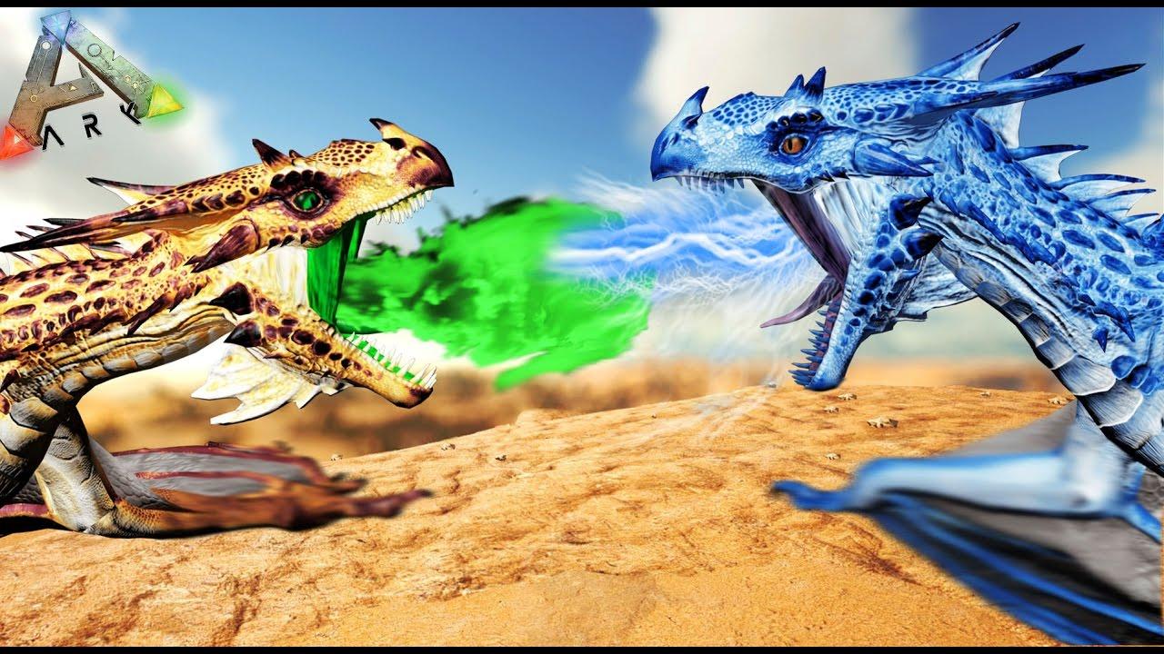 Batalla De Dragones  - Ark
