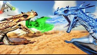 BATALLA DE DRAGONES! - ARK - REINOS ENFRENTADOS #54 - NexxuzWorld