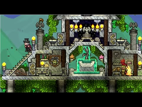 Terraria 1 3 Building Competition Results Youtube