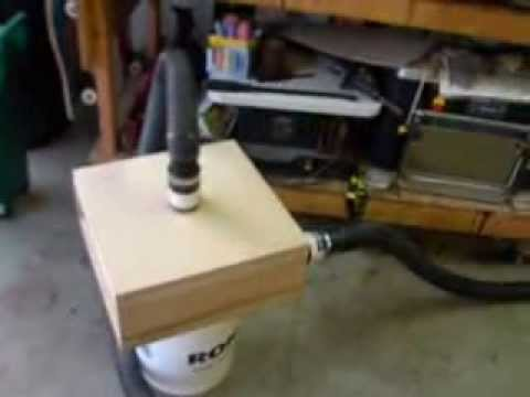How to make a cyclone dust separator for your shop vac  - YouTube