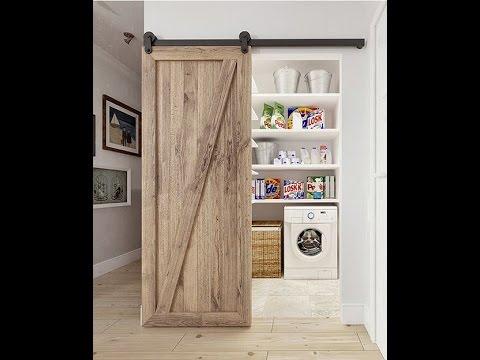 Puertas tipo granero kit herraje e instalaci n artedoor for Puerta granero madera