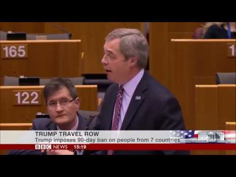 Nigel Farage DESTROYS Parliament over anti-Trump, anti-Americanism