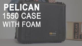 Pelican 1550 Case with Foam (Black)