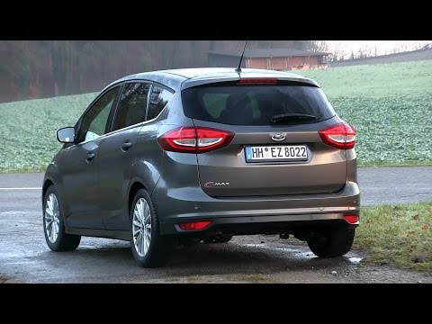2015 Ford C-MAX 1.5 TDCi (120 HP) Test Drive