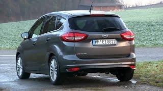 2015 Ford C-MAX 1.5 TDCi (120 HP) Test Drive