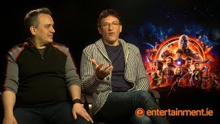 Joe & Anthony Russo On Avengers: Infinity War, Dublin & Tom Vaughan Lawlor