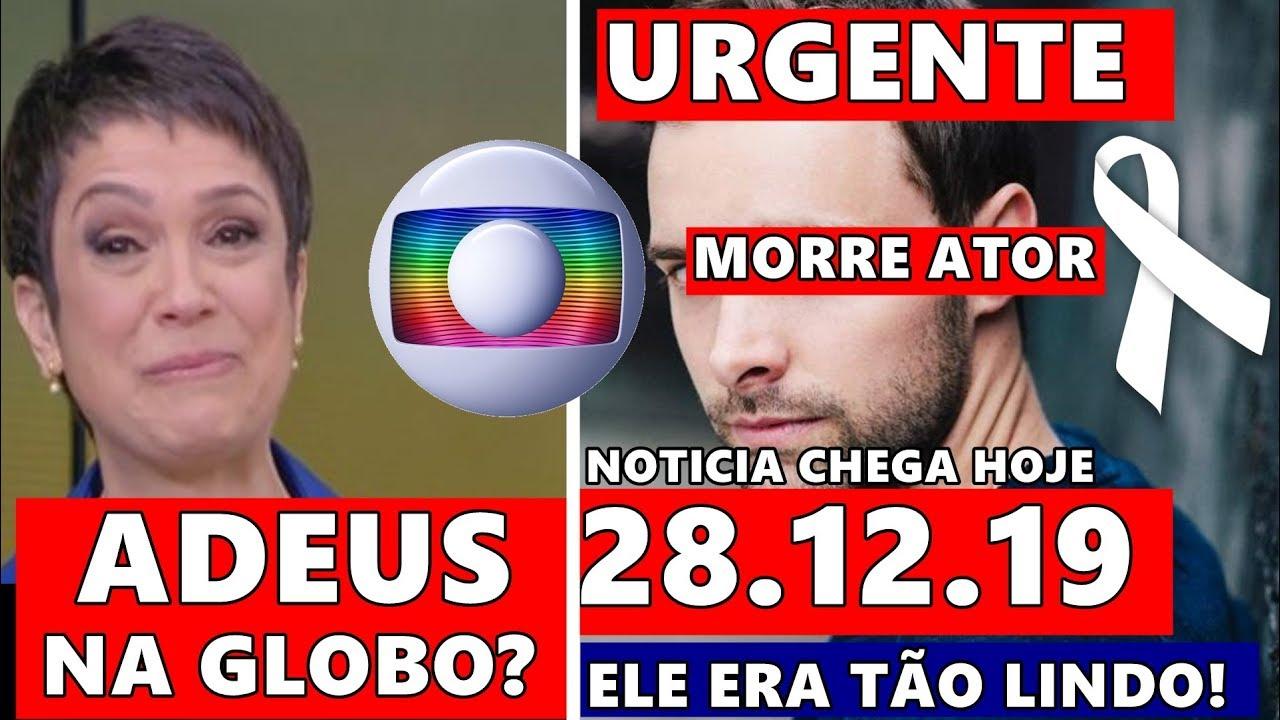Triste noticia:  Ator famoso se vai... Apresentadora Sandra Annemberg apos programa na Globo