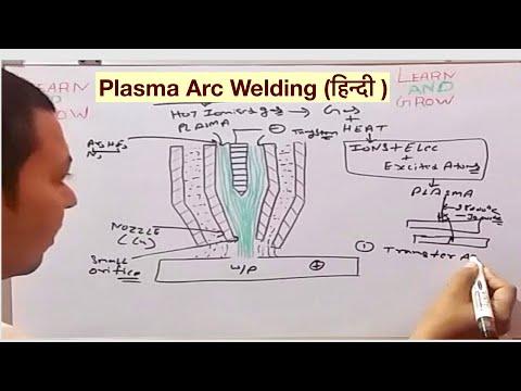 PLASMA ARC WELDING (हिन्दी )!LEARN AND GROW