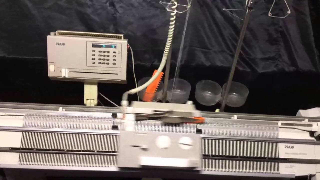 pfaff knitting machine
