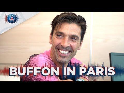 GIGI BUFFON'S FIRST STEPS IN PARIS