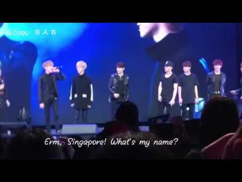[FANCAM] 151206 GOT7 Fanmeet in SG - Introduction