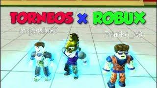 MATAME y te DARE 50 ROBUX - Torneos en Dragon Ball Rage Roblox