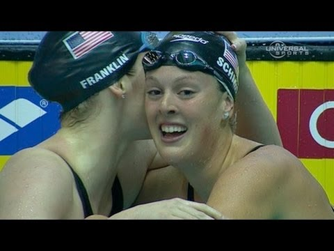 Franklin and Schmitt tie in 100m Free - from Universal Sports