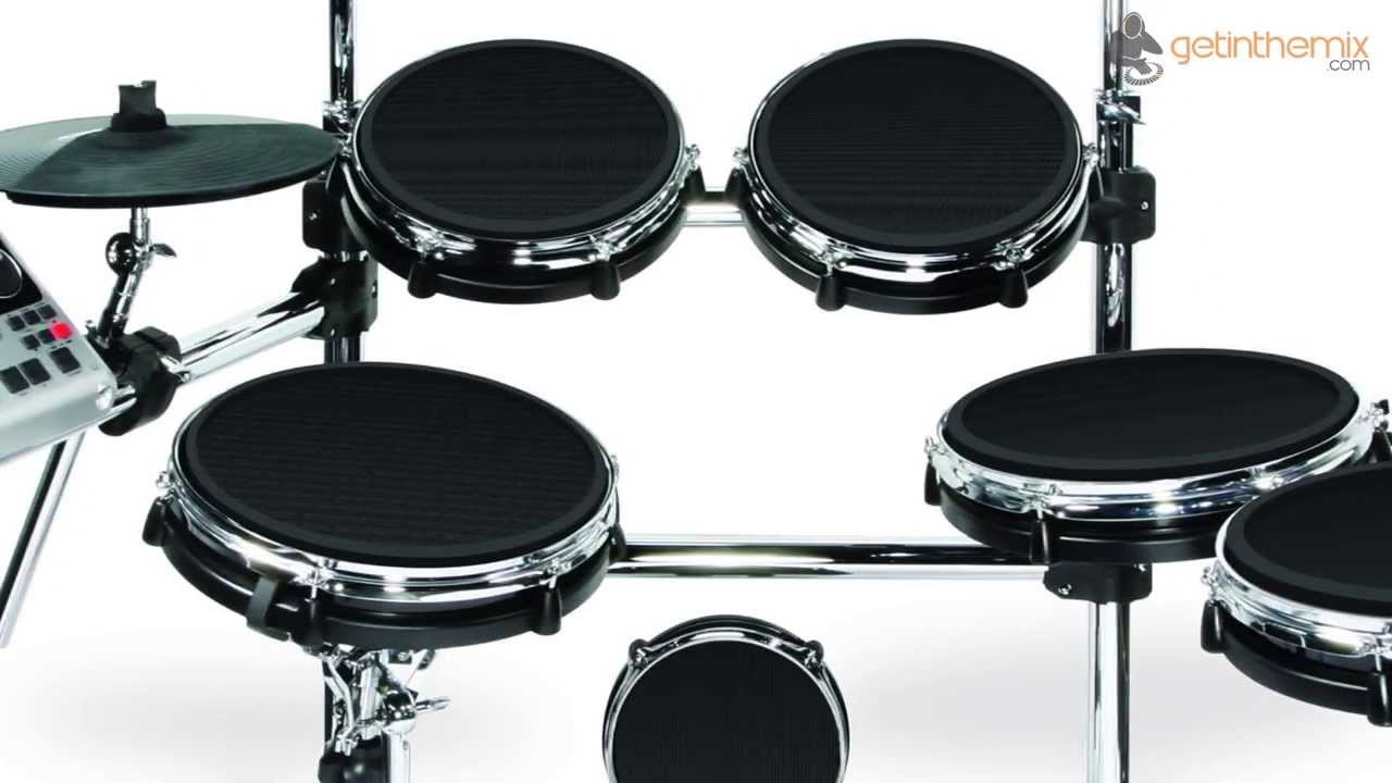 a0679b0a4880 Alesis DM10X Kit Mesh - Mesh Head Electronic Drum Kit - YouTube