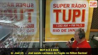 Botafogo 0 X 2 Avaí - 10ª Rodada - Brasileirão - 26/06/2017