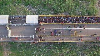 نزوح الفقر من فنزويلا إلى كولومبيا