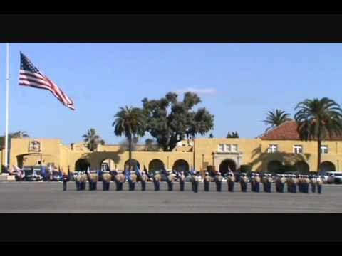 Marine Graduation, Liberty and Flag Raising India Co Oct 7 2011 MCRD San Diego