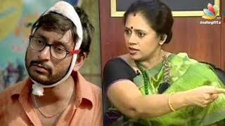 Lakshmi Ramakrishnan questions RJ Balaji for mocking reality show | Kadavul Irukan Kumaru | Hot News