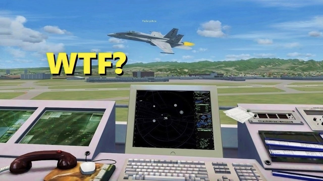 Airforceproud95 Has Complete Ownage of Flight Simulator X