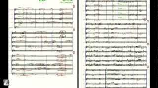 [5Sax (SAATB)] SPAIN / スペイン by Chick Corea (サックス五重奏)