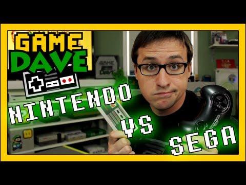 Nintendo VS Sega | Game Dave